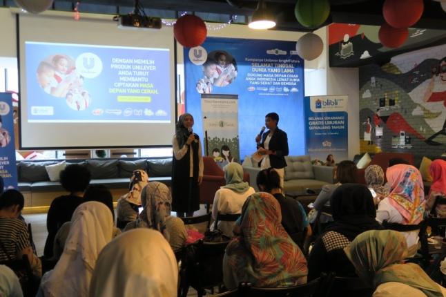 Sambutan dari Teh Ninit, founder TUM