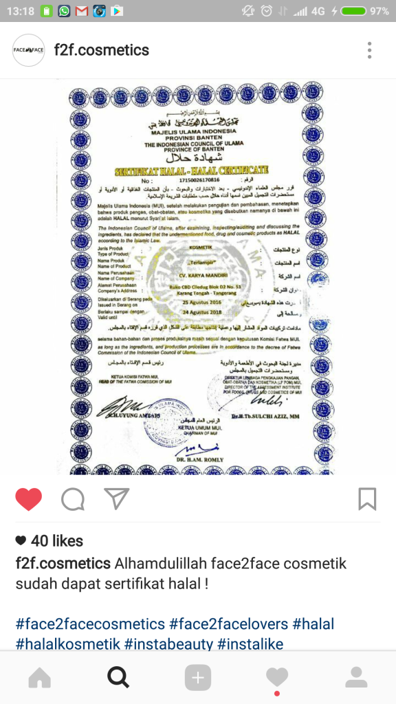 sertifikat halal MUI Banten