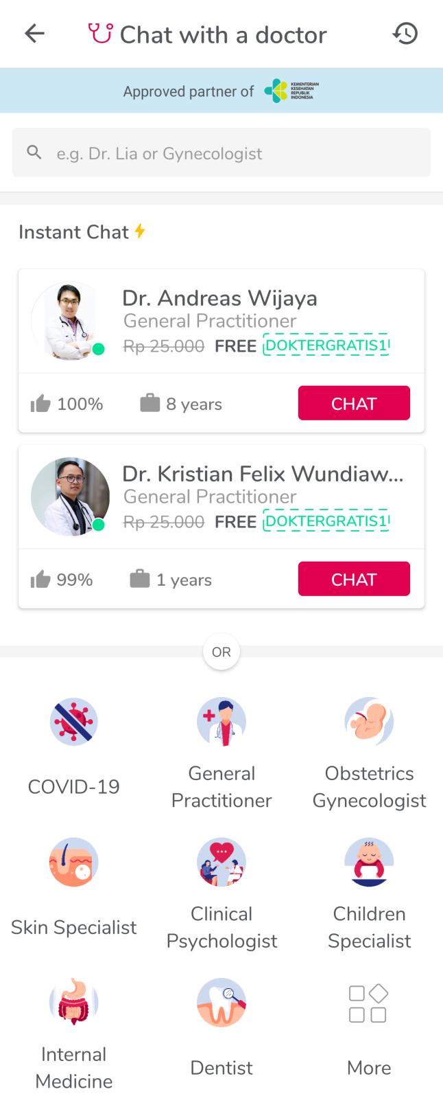 Dokter di Halodoc
